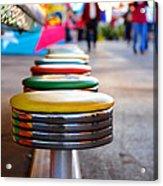 Fun Seats Acrylic Print