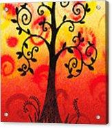 Fun Tree Of Life Impression IIi Acrylic Print