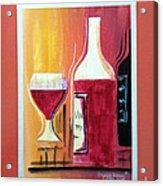 Fun Wine Time Acrylic Print