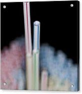 Fun With Straws 1 Acrylic Print