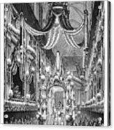Funeral Dauphine, 1746 Acrylic Print