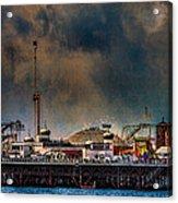 Funfair On The Pier Acrylic Print
