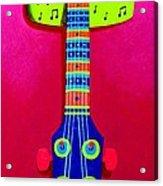 Funkadelic Guitar Acrylic Print