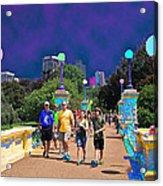 Funky Foot  Bridge Acrylic Print