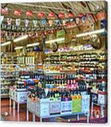 Funky Town Market Venice California Acrylic Print
