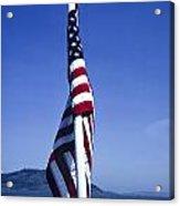 Furled Flag Acrylic Print