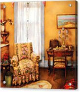 Furniture - Chair - Livingrom Retirement Acrylic Print
