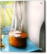 Furniture - Lamp - In The Window  Acrylic Print