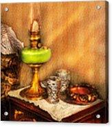 Furniture - Lamp - The Gas Lamp Acrylic Print