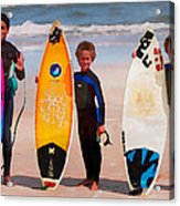 Future Surfing Champs Acrylic Print