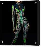 Future Woman... Acrylic Print