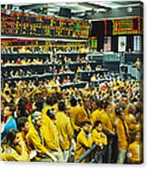 Futures And Options Traders Chicago Acrylic Print