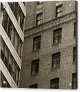 Futures Past - Architecture Abstract  Acrylic Print