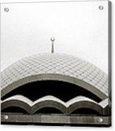 Futuristic Islamic Dome Acrylic Print