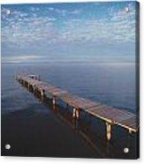 Fv2549, Mattthew Plexman Long Dock Out Acrylic Print