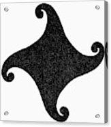 Fylfot-triskelion Acrylic Print