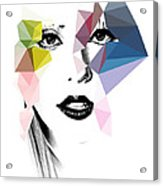 Ga Ga Acrylic Print
