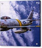 Gabby's F-86e Acrylic Print
