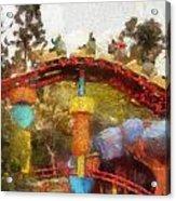 Gadget Go Coaster Disneyland Toontown Photo Art 02 Acrylic Print