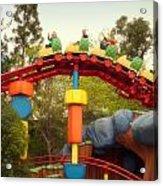Gadget Go Coaster Disneyland Toontown Acrylic Print