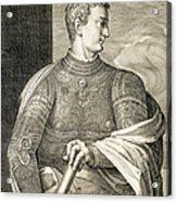 Gaius Caesar Caligula Emperor Of Rome Acrylic Print