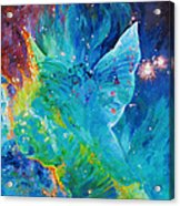 Galactic Angel Acrylic Print