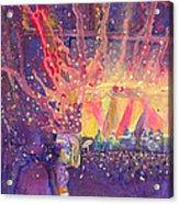 Galactic At Arise Music Festival Acrylic Print