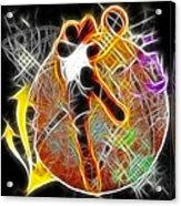 Galactic Dunk 2 Acrylic Print by David G Paul