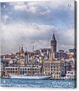 Galata Tower Istanbul Acrylic Print