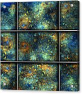 Galaxies II Acrylic Print