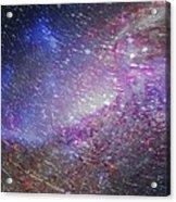 Galaxy Glass Acrylic Print