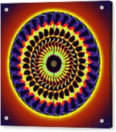 Galaxy Spotlight Kaleidoscope Acrylic Print