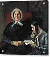 Gallait, Louis 1810-1887. The Mother Acrylic Print