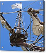Galleon Lookout Nest Acrylic Print