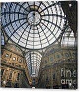 Galleria Vittorio Emanuele II - Milan Acrylic Print