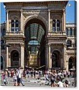 Galleria Vittorio Emanuele. Milan Acrylic Print