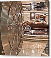 The Vault - Aston Martin Acrylic Print