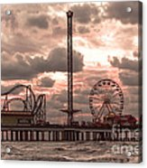 Galveston Island Morning Acrylic Print