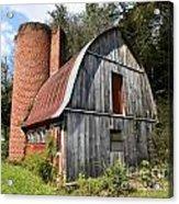 Gambrel-roofed Barn Acrylic Print