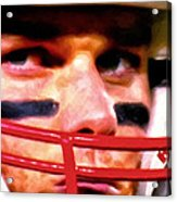 Game Face Acrylic Print