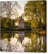 Game Keepers Cottage Cusworth Acrylic Print by Ian Barber