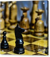 Game Of Chess Acrylic Print