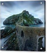 Games Of Thrones - Dragonstone Island -san Juan De Gaztelugatxe Acrylic Print