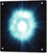 Gamma-ray Burst In Space Acrylic Print