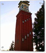 Gananoque Clock Tower Acrylic Print