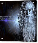 Gandalf The Grey Acrylic Print