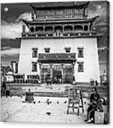 Gandantegchenling Monastery Acrylic Print