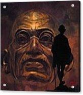 Gandhi - The Walk Acrylic Print