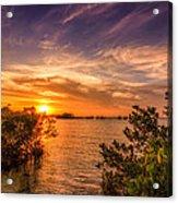 Gandy Sunset Acrylic Print