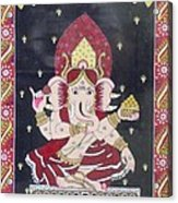 Ganesha The Hindu God Acrylic Print